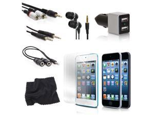 ISOUND 11 in 1 Accessory Kit for iPod Touch 5th Gen - Black. Model ISOUND-5295