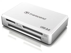 Transcend Multi USB 3.0 Super Speed Flash Memory Card Reader For CF SD SDHC SDXC Micro M2 UDMA MSXC White TS-RDF8W