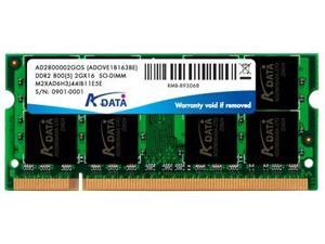 2GB A-Data DDR2-800 (PC2-6400) SO-DIMM 200-pin module Model AD2S800B2G6-R