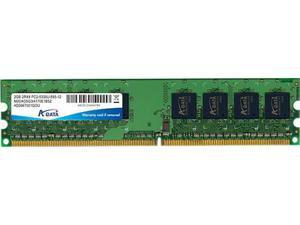 ADATA 2GB A-Data DDR2 PC2-5400 667MHz CL5 desktop memory module Model AD2U667B2G5-S