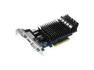 ASUS 1GB GeForce GT 730 GDDR3 64-Bit PCI Express 2.0 HDCP Ready Video Card Model GT730-SL-1GD3-BRK