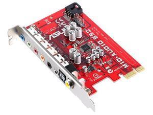 ASUS 8.1 channels RealTek ALC892, Azalia Audio Codecs High Def.ition Audio Card Model MIO-892
