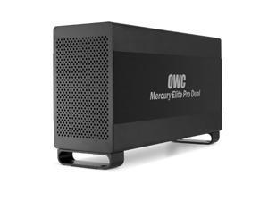 "OWC Mercury Elite Pro Dual USB 3.0 500MB/sec & Thunderbolt 1250MB/sec RAID Storage Enclosure . Two 3.5"" SATA drive bays. Supports RAID 0, 1, span & independent drives. Model OWCMETB7DK0GB"