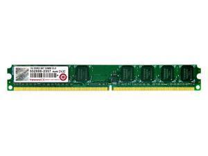 Transcend 1GB JetRAM DDR2 PC2 5400 667MHz DIMM Desktop Memory RAM Model JM667QLU-1G