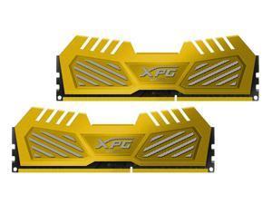 ADATA 8GB (2x4GB) XPG V2 DDR3 PC3-20800 2600MHz Gaming Memory Gold Model AX3U2600W4G11-DGV