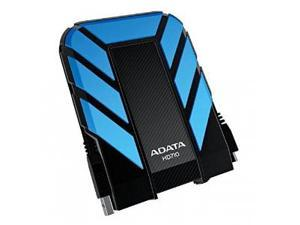 ADATA 2TB HD710 DashDrive Series USB 3.0 Durable Water & Shock Proof Portable Hard Drive Blue Model AHD710-2TU3-CBL