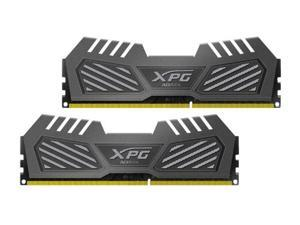 ADATA 8GB (2x4GB) XPG V2 DDR3 PC3-22400 2800MHz Gaming Memory Tungsten Grey Model AX3U2800W4G12-DMV