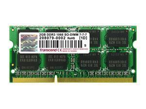 Transcend 2GB DDR3 SDRAM Memory Module Model TS256MSK64V1U