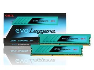 GeIL 8GB DDR3 PC3-19200 2400MHz EVO Leggera CL11 (11-13-13-30) Dual Channel kit Model GEL38GB2400C11BDC