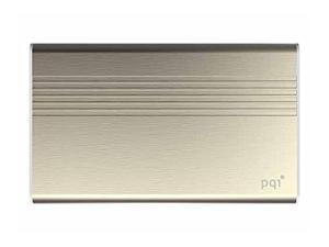PQI Pover Bank Power 5000V Portable  (Smartphone and iPhone 4/5/6 compatible) Gold Edition  Model 6PPQ-06JR0001A