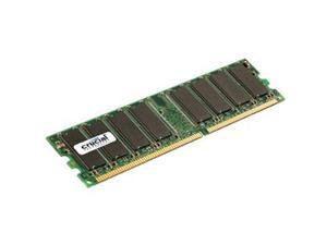 Crucial 1GB DDR SDRAM PC2700 333MHz 184-pin Non-ECC Memory Module Model CT12864Z335