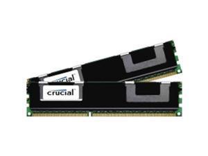Crucial 16GB (2 x 8GB) DDR3 PC3-8500 1066 Mhz DIMM 240-pin Registered Memory Modules Model CT2K8G3ERSLQ81067