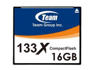 Team 16GB 133X CF CompactFlash memory card Model TCF16G13301