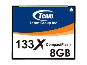 Team 8GB 133X CF CompactFlash memory card Model TCF8G13301