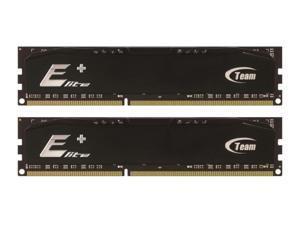 Team 4GB Elite Plus Black DDR3 PC3-10666 1333MHz (9-9-9) Dual Channel kit Model TPKD34G1333HC9DC01