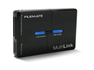 Wintec Filemate 43 in 1 Card Reader and USB Hub. SD SDHC SDXC MMC RS Mini Micro. Prefect For Most Cards in the Market & adds 3 USB Ports. Model 3FMCRUSBBB