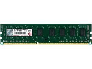Transcend JetRam 4GB 240-Pin DDR3 SDRAM DDR3 1600 -PC3 12800- Desktop Memory Model JM1600KLN-4G