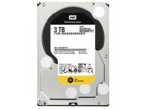 "Western Digital 3TB 7200 RPM 64MB Cache SATA 6.0Gb/s 3.5"" Enterprise Internal Hard Drive Bare Drive Model WD3000FYYZ"