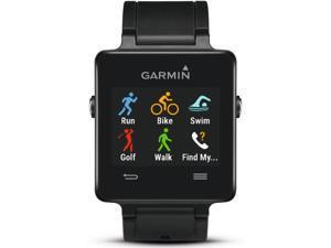 Garmin Vivoactive GPS Smartwatch Black Edition Model 010-01297-00