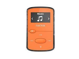 SANDISK  8GB Clip Jam MP3 Player (Orange) Model SDMX26-008G-G46O