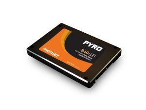 "Patriot 240GB Pyro 2.5""  SATA III MLC Internal Solid State Drive SSD Model PP240GS25SSDR"