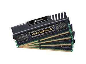 CORSAIR 16GB (4 x 4GB) Vengeance DDR3 1600MHz PC3 12800-240-Pin Desktop Memory Model CMZ16GX3M4X1600C9