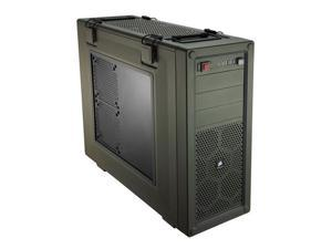 Corsair Vengeance Series Military Green C70 Mid Tower Computer Case Model CC-9011018-WW