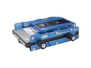 OWC Multi-Mount: 2.5 to 3.5 / 3.5 to 5.25 Hard Drive Adapter Bracket Set. Model OWCMM35A52CMB