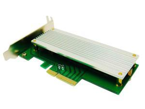 ZTC PCIe 4X 10G Adapter Converter Card Fits the SSD in the 2013 MacBook Pro or Air. Compatible Model SSDs are found in A1465 A1466 A1502 A1398. ZTC-EX002
