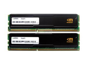 Mushkin 8GB (2x4GB) Stealth DDR3 PC3-12800 1600MHz 240-Pin Desktop Memory Model 996995S
