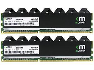 Mushkin 8GB (2 x 4GB) Enhanced Blackline DDR3 2133MHz PC3 17000-240-Pin Desktop Memory Model 997181F