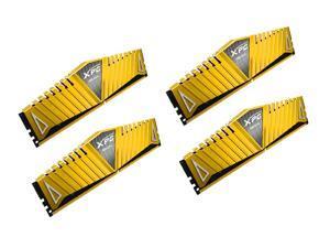 ADATA 16GB (4 x 4GB) DDR4 3200MHz PC4 25600-288-Pin Gold Edition Desktop Memory  Model AX4U3200W4G16-QGZ