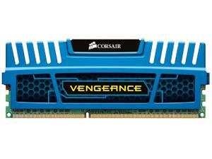 CORSAIR 8GB Vengeance DDR3 1600MHz PC3 12800-240-Pin Desktop Memory Model CMZ8GX3M1A1600C10B
