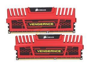 CORSAIR 8GB (2 x 4GB) Vengeance DDR3 1866MHz PC3 15000-240-Pin Desktop Memory Model CMZ8GX3M2A1866C9R