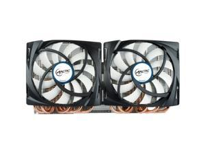 ARCTIC Accelero TT 690 VGA Cooler - GTX 690, Dual Quiet 120mm PWM Fans, Extreme Cooling Model DCACO-V780001-BL