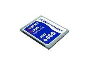 Super Talent 300X 64GB I-Temp CF Memory Card - SLC