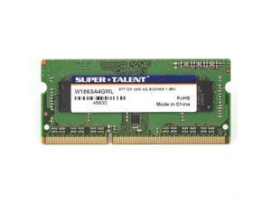 Super Talent 4GB DDR3 PC3-14900U 1866MHz Micron Chip CL13 Notebook Memory Model W1866SA4GM(SZ)