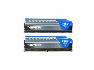 Patriot Memory 8GB (2 x 4GB) Viper Elite DDR4 PC4-24000 3000MHz 288-Pin Desktop Memory Model PVE48G300C6KBL