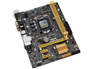 ASUS LGA 1150 Intel H81 SATA 6Gb/s USB 3.0 Micro ATX Intel Desktop Motherboard Model H81M-E