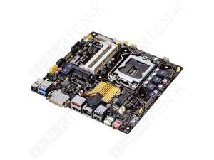 ASUS LGA 1150 Intel H81 HDMI SATA 6Gb/s USB 3.0 Thin Mini-ITX Intel Desktop Motherboard Model H81T R2.0/CSM