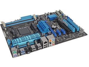 ASUS AM3+ AMD 970 + SB 950 6 x SATA 6Gb/s port(s), gray USB 3.0 ATX AMD Desktop Motherboard with UEFI BIOS Model M5A97 R2.0