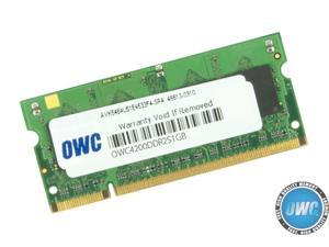 "OWC 1GB PC2-4200 DDR2 533MHz SODIMM 200 Pin Memory Upgrade Module For *NEW October-2005* PowerBook G4 'Aluminum' 15"" & 17"" 1.67GHz Models using DDR2 *ONLY*. Model OWC4200DDR2S1GB"
