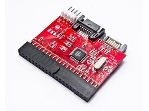 NEON SATA to PATA/IDE and PATA/IDE to SATA Hard Drive Interface Dual-Adapter with SATA+power cable Model Dual-adap-S/ATA