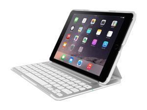 Belkin QODE Ultimate Pro Keyboard/Cover Case (Folio) for iPad Air 2 White Model F5L176ttWHT