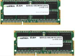 Mushkin Enhanced 32GB (2 x 16GB) iram DDR3L PC3L-14900 1866MHz Memory for Apple Model MAR3S186DM16G28X2