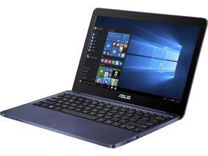 Asus 11.6 inch Vivobook Intel Atom x5-Z8300 1.44GHz 2GB DDR3 32GB eMMC USB3.0 Dark Blue Windows 10 Notebook Model E200HA-US01-BL