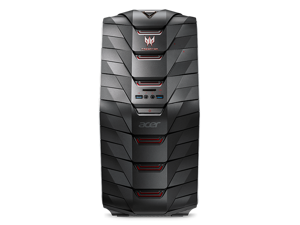 Acer Predator AG6-710-70013 Intel Core i7 6th Gen 6700K- 4.00 GHz- 16 GB DDR4 - 2 TB HDD +256 GB SSD - NVIDIA GeForce GTX 980 4 GB GDDR5 - Windows 10 Home - Desktop PC Model UD.P01AA.275