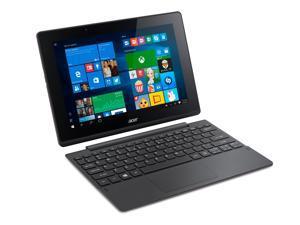 "Acer Aspire 10.1"" Touchscreen LED IPS Technology Intel Atom x5 x5-Z8300 Quad-core 1.44GHz 64GB Flash SSD 2GB LPDDR3 RAM HD Graphics LPDDR3 Color Gray Ultrabook Model NT.G8VAA.003"