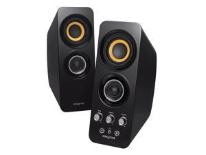 Creative 2.48 GHz MF1655 2.0 Speaker System Black Wireless Speaker Model 51MF1655AA001