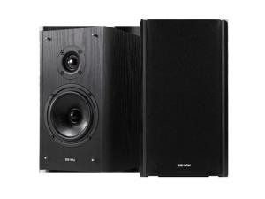 "Creative 5"" Woofer E-MU XM7 120 W RMS 2.0 Speaker Black Woodgrain Bookshelf Speakers Model 70EM911000000"